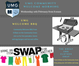 Save the Date : Clothes Swap & BBQ Breakfast