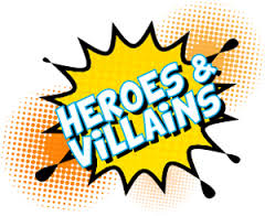 Heroes & Villains Free Dress Day & Disco